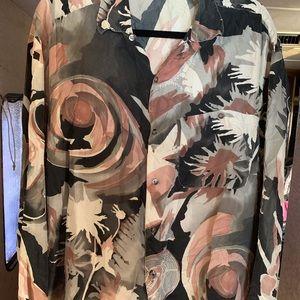 Gorgeous Zanella 100% Silk made Italy Shirt #2